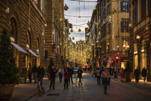 Florence - fascinating in the Christmas spirit