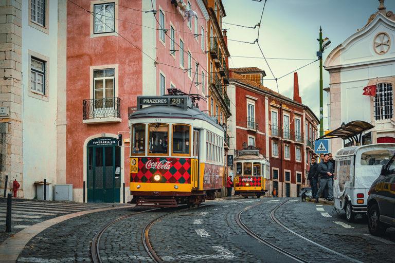 Lisabon vo vianočnej nálade